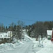 Winter In Maine Art Print