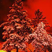 Winter In Minneapolis Art Print
