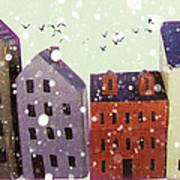 Winter In Nantucket Art Print