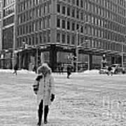 Winter In The City Art Print