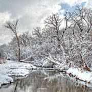 Winter In The Heartland 9 Art Print