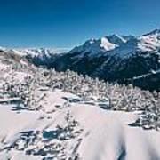 Winter In Tirol Art Print