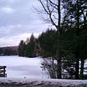 Winter In Vermont Art Print