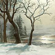 Winter In Yosemite Art Print