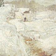 Winter Landscape Art Print by John Henry Twachtman