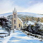Winter  Loughguile  Ireland Art Print