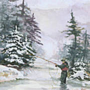 Winter Magic Print by Elisabeta Hermann