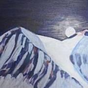 Winter Night In Skye Art Print