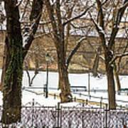 Winter Park Art Print
