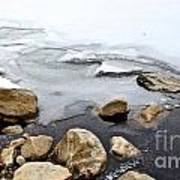 Winter Quabbin Art Print