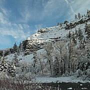 Winter Scene Art Print by Jeff Swan