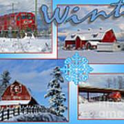 Winter Scenes  Art Print