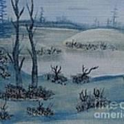 Winter Solitude Art Print
