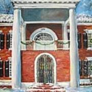 Winter Spirit In Dahlonega Art Print