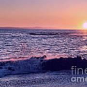 Winter Sunset In Laguna Beach IIi Art Print