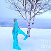 Winter Tree Empress Art Print