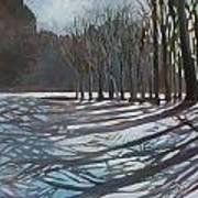 Winter Walk Art Print