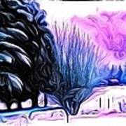 Winter Whimsey  Art Print