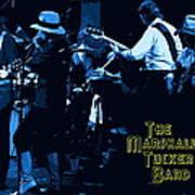 Winterland Blues With The Marshall Tucker Band 1976 Art Print