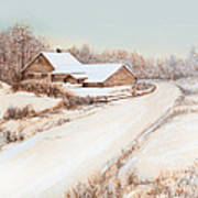 Winterness Art Print by Michelle Wiarda