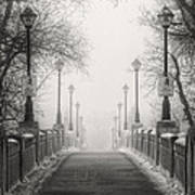 Winters Bridge Art Print by Stuart Deacon