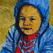 Winter's Child Art Print
