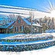 Winters Day Photoart 6 Art Print