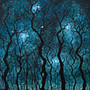 Winter's Night Art Print
