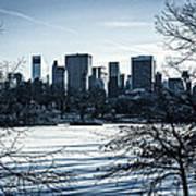 Winter's Touch - Manhattan Art Print