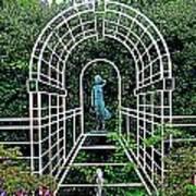 Wire Garden Arch Art Print