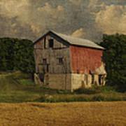 Wisconsin Barn Art Print