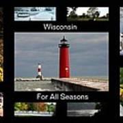 Wisconsin For All Seasons Art Print