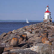 Wisconsin Point Lighthouse 1 K Art Print