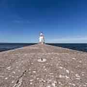 Wisconsin Point Lighthouse 6 B Art Print