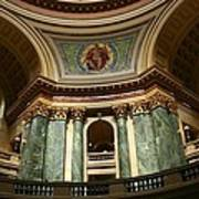 Wisconsin State Capital Building 1  Art Print
