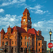 Wise County Courthouse Art Print