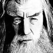 Wise Wizard Art Print by Kayleigh Semeniuk