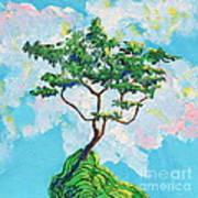 Wish Bone Tree Art Print