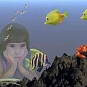 Wish I Could Swim Art Print