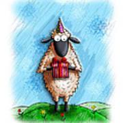 Wishing Ewe  Art Print