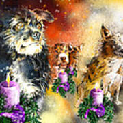 Wishing You A Blessed Advent Art Print