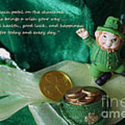 Wishing You A Happy St. Patricks Day Art Print
