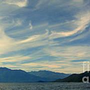 Wispy Clouds Art Print