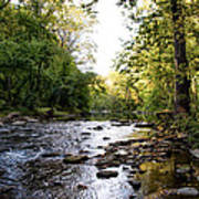 Wissahickon Creek Near Bells Mill Art Print