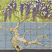 Wisteria Art Print by Don Perino