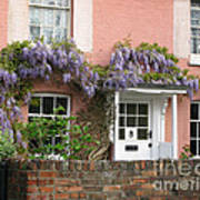 Wisteria House Art Print