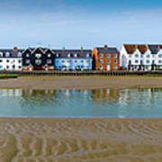 Wivenhoe Waterfront Art Print by Gary Eason