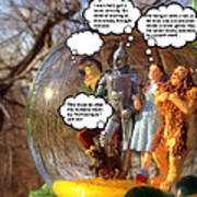 Wizard Of Oz Humor II Art Print