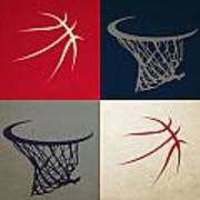 Wizards Ball And Hoop Art Print