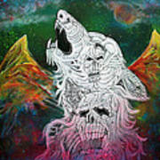 Wolf Spirit Animal Art Print
